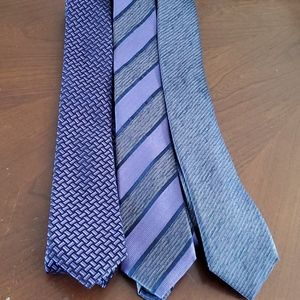 3 Purple Alfani Ties